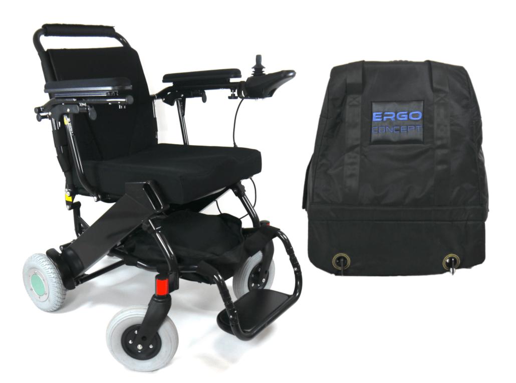 Ergo 07L Prestige - ErgoConcept - Fauteuil roulant électrique pliable