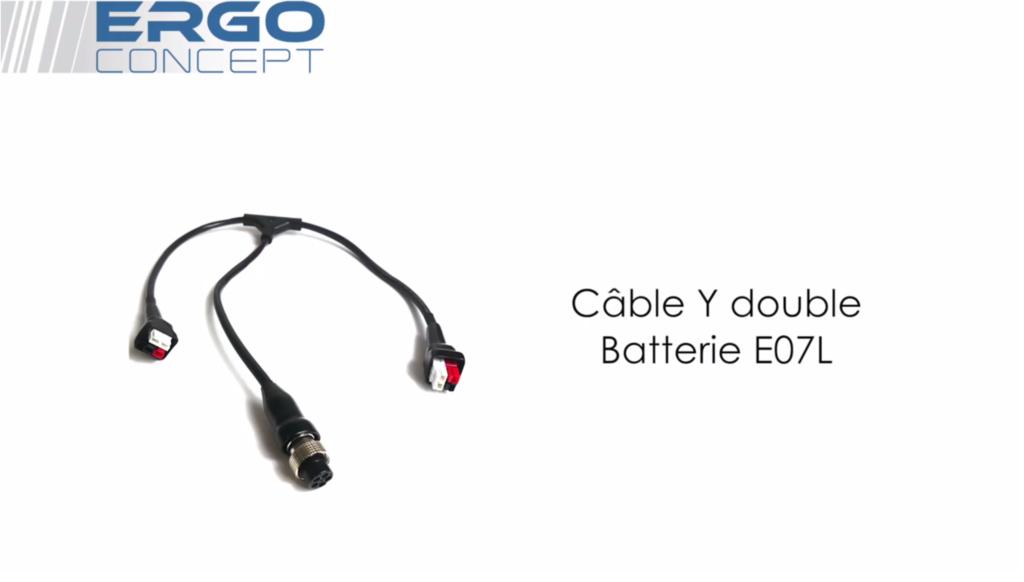 Câble Y - Double-Batterie