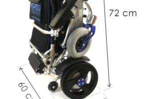 Ergo 08L plié - Fauteuil roulant éléectrique pliable