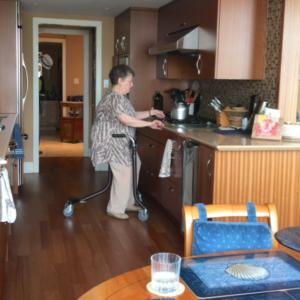 Bikube - Mains libres en cuisine
