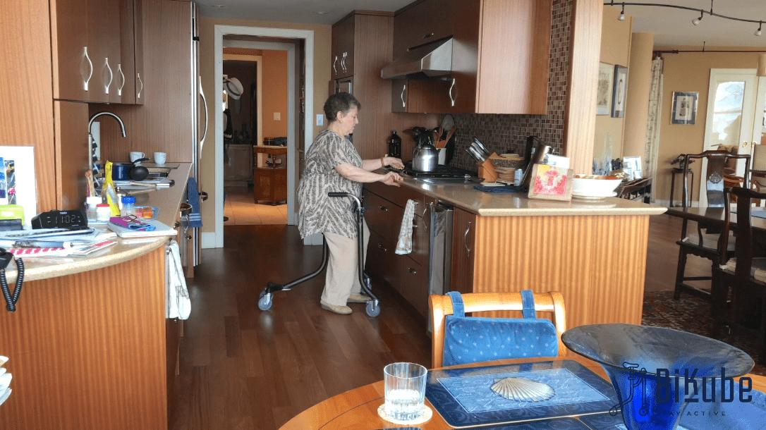 Bikube – Mains libres en cuisine