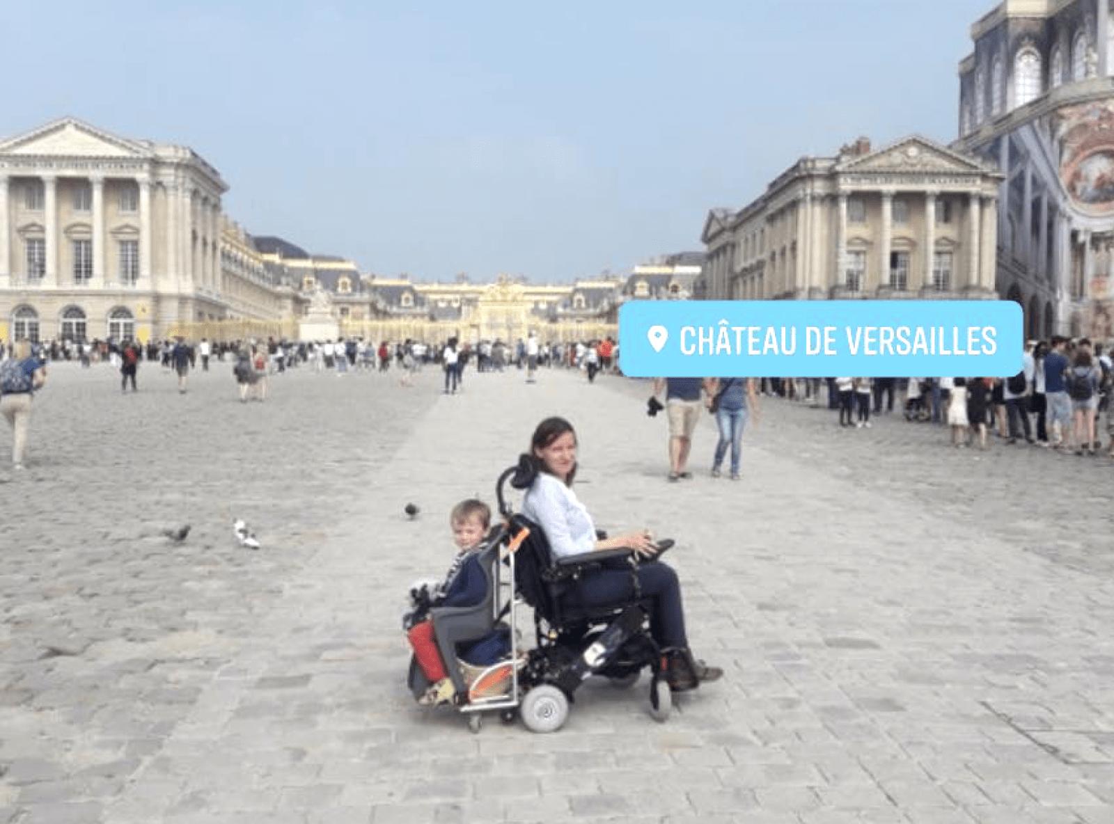 Aurore Ropars- le chariot - Versailles