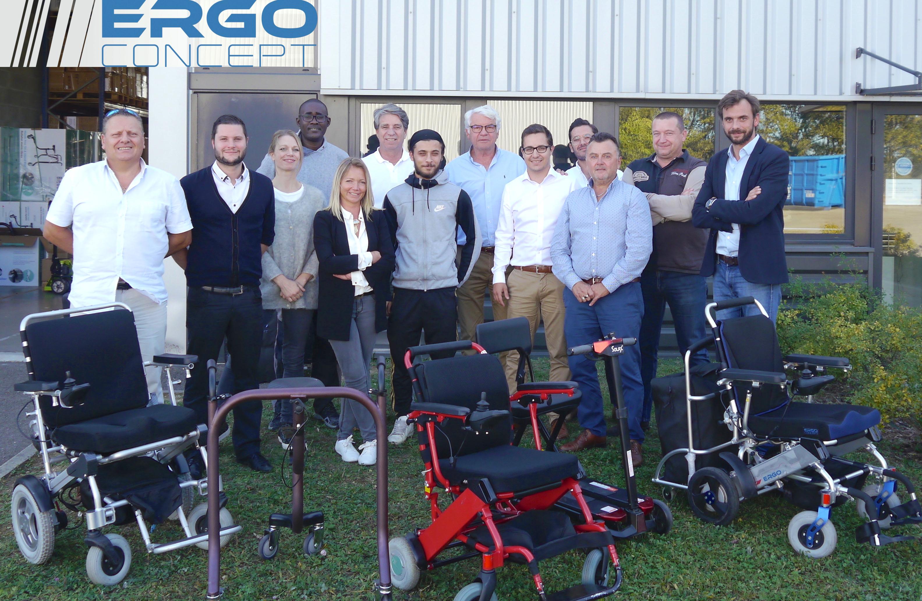 Équipe ErgoConcept - Fauteuils et scooter électrique pliable
