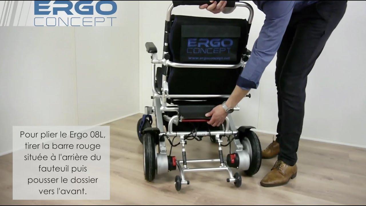 Pliage/Dépliage Ergo 08L