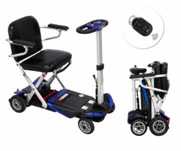 NOUVEAU ! Le modèle électrique Ergo SL 2 complète la gamme  Scooter ErgoConcept avec de nombreuses options de série (accoudoirs, port USB, etc.)