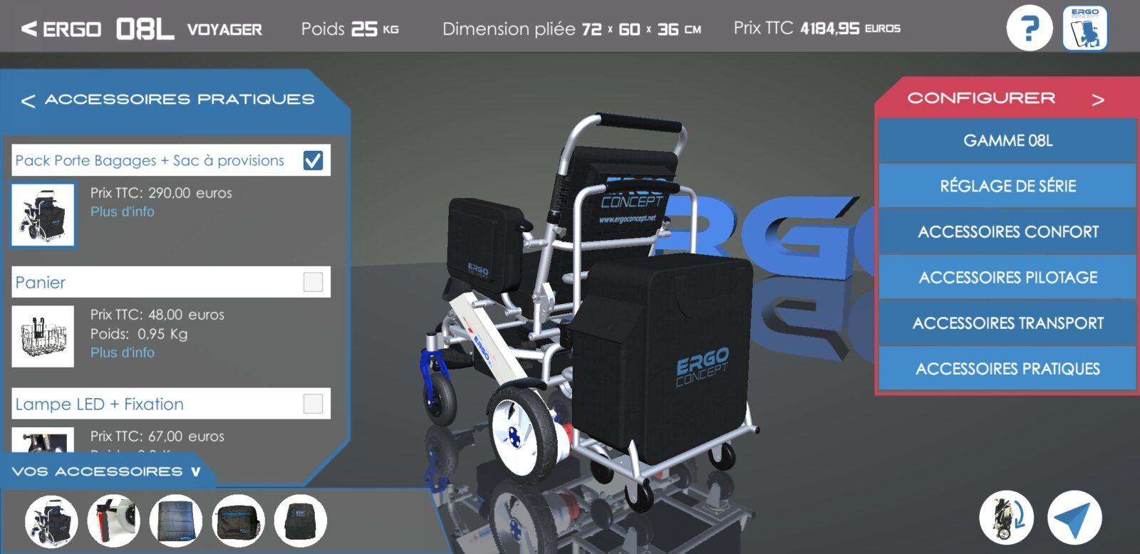 Configurateur ErgoConcept-accessoire