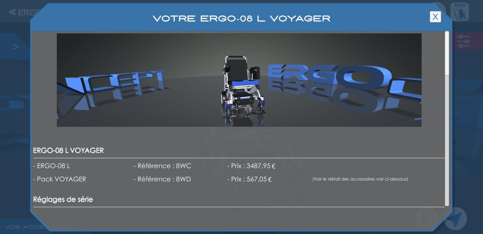 Configurateur ErgoConcept-envoyer la demande