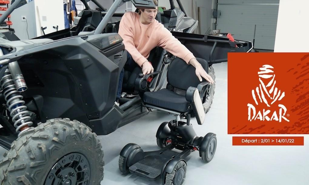 Axel Alletru présente le fauteuil WHILL Model C !